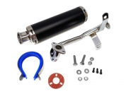 Silencer / Exhaust for QMB139/ 50cc 4 stroke engines